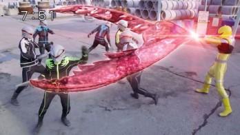 宇宙戦隊キュウレンジャー 次元転送装置でキュータマを転送!色んなキュータマ