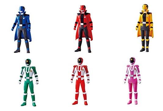 『快盗戦隊ルパンレンジャーVS警察戦隊パトレンジャー』6人の「戦隊ヒーローシリーズ」ソフビが2月発売!