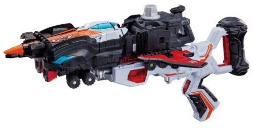 lルパンレンジャーVSパトレンジャー「VSビークルシリーズ DXグッドストライカー」でルパンカイザー&パトカイザーに合体!