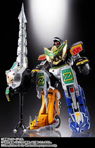 恐竜戦隊ジュウレンジャー「超合金魂 GX-78 ドラゴンシーザー」