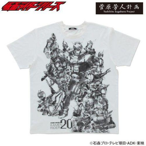 菅原芳人計画 仮面ライダージオウ&平成ライダー20周年記念Tシャツ