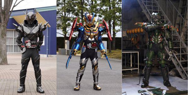 ビルド NEW WORLD「仮面ライダーグリスパーフェクトキングダム」、敵キャラ「ファントムクラッシャー」「メタルビルド」公開