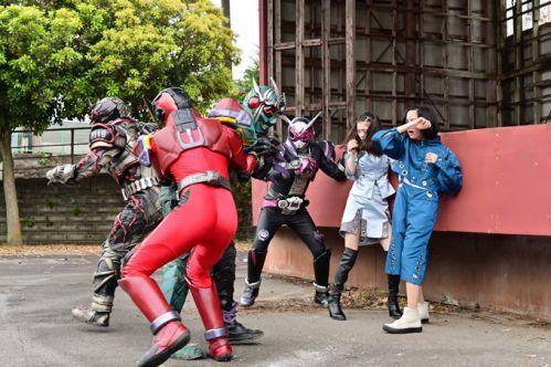 『仮面ライダージオウ』TV本編にアナザー龍騎とアナザーWが初登場