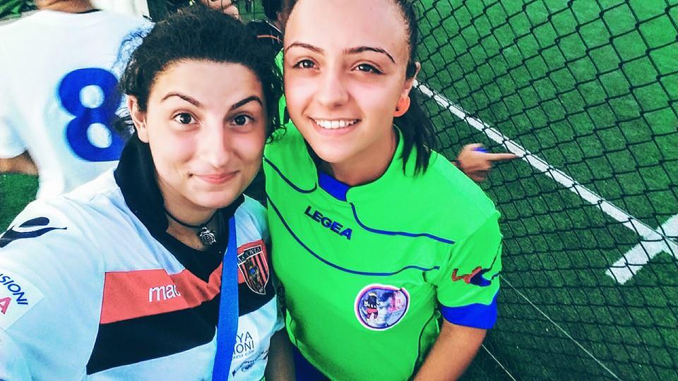 Desiree Russo, il portiere goleador della Serie C Pugliese