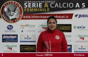 Sirna Cluadia, resta al Vittoria Sporting Futsal