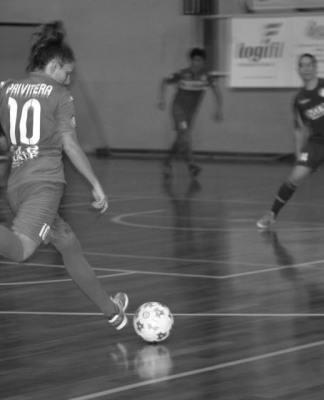 Veronica Privitera saluta il Vittoria Sporting Futsal