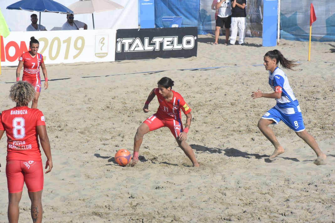 pavia beach soccer vs terracina