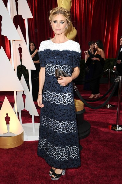 Laura Bailey Oscar Dress