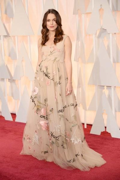 Keira Kneightley Oscar dress