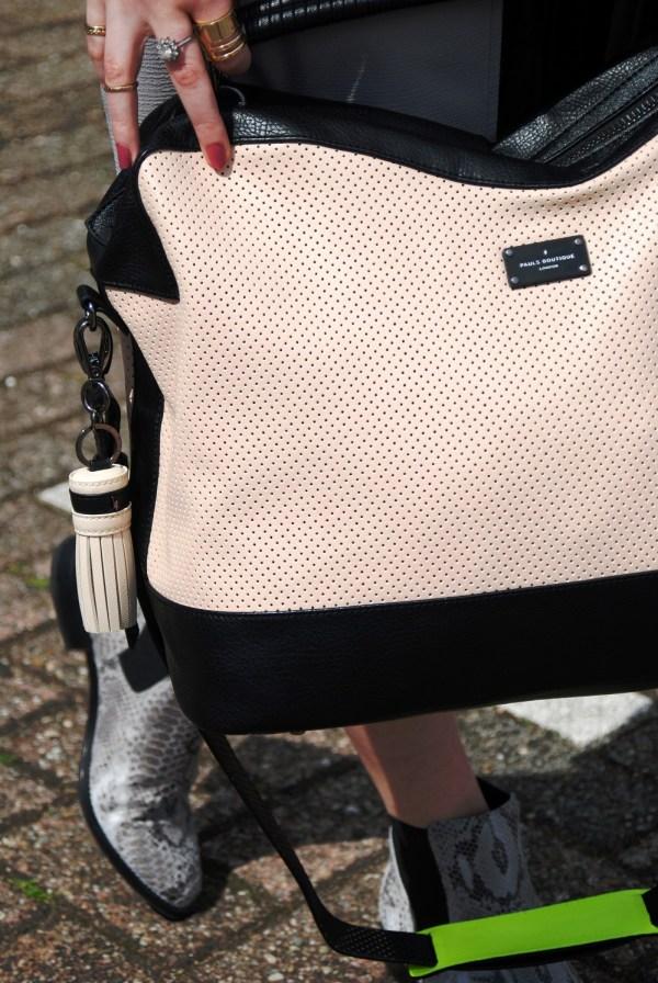 Paul's Boutique weekend bag | weekend away with Edie