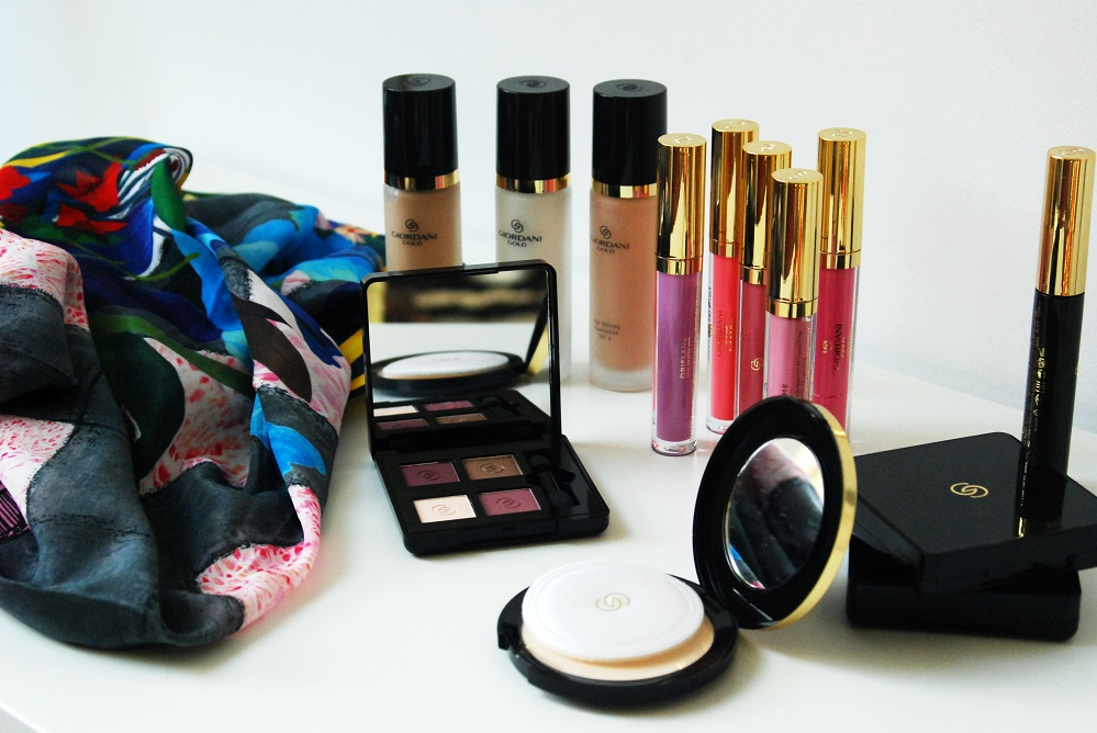 Oriflame Giordani Gold, the whole collection