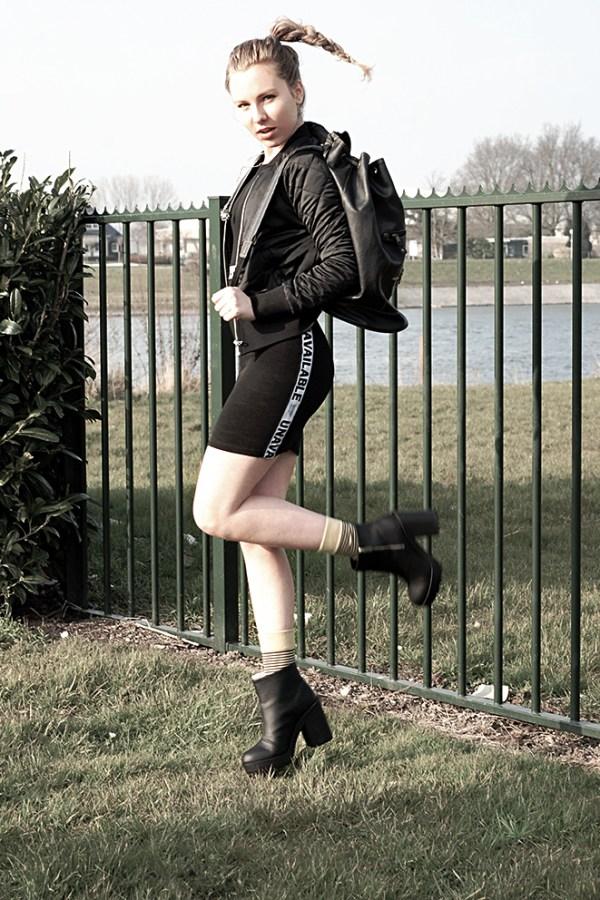 unavailable black dress