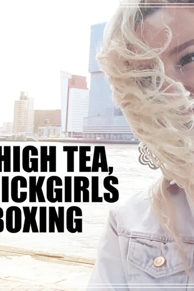 HIGH TEA, FASHIONCHICKGIRLS AND UNBOXING | Vlog 003 | Lady Goldapple