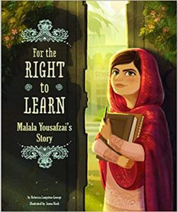 For the right to learn Malala