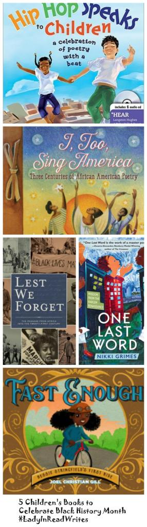 5 Children's Books to Celebrate Black History Month