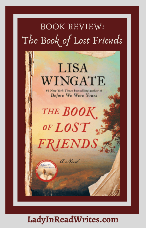 book review: the book of lost friends by lisa wingate