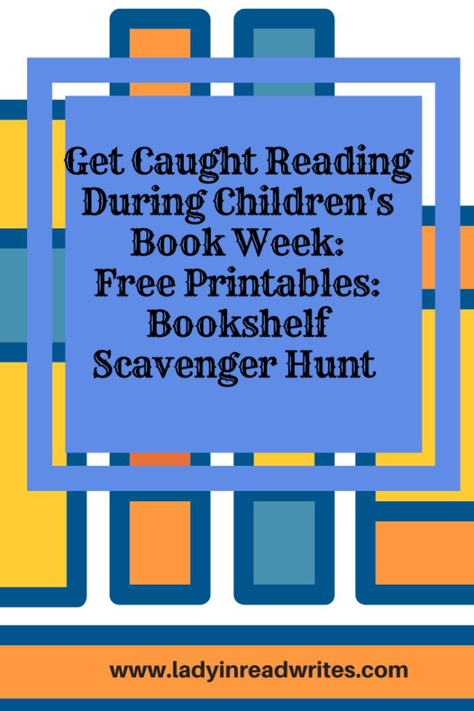 Free Printable: Bookshelf Scavenger Hunt
