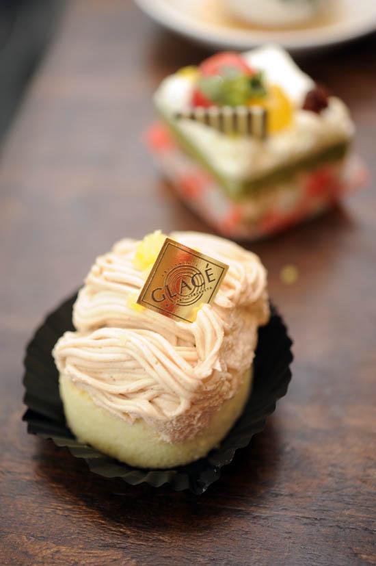 Patisserie Glace Mont Blanc Dessert