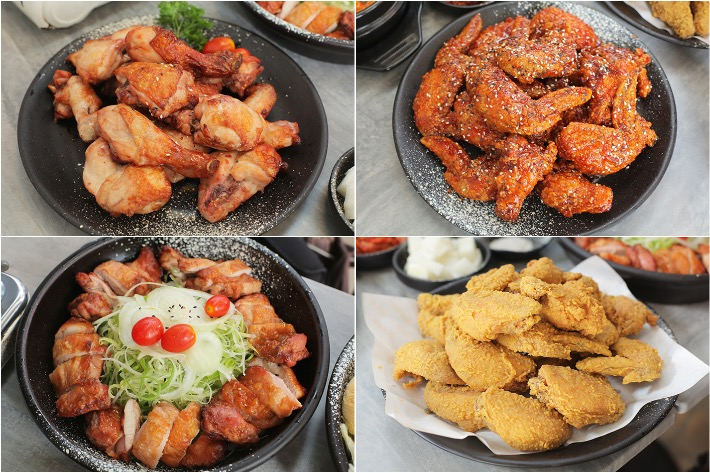 Oven & Fried Chicken Collage