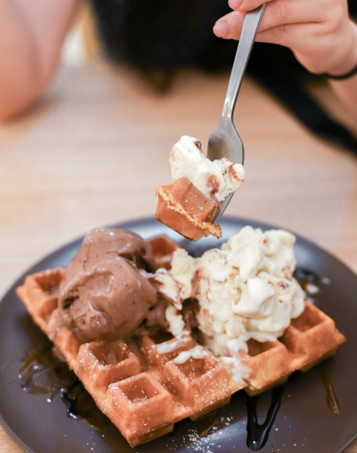 Everton Creamery Waffle Piece