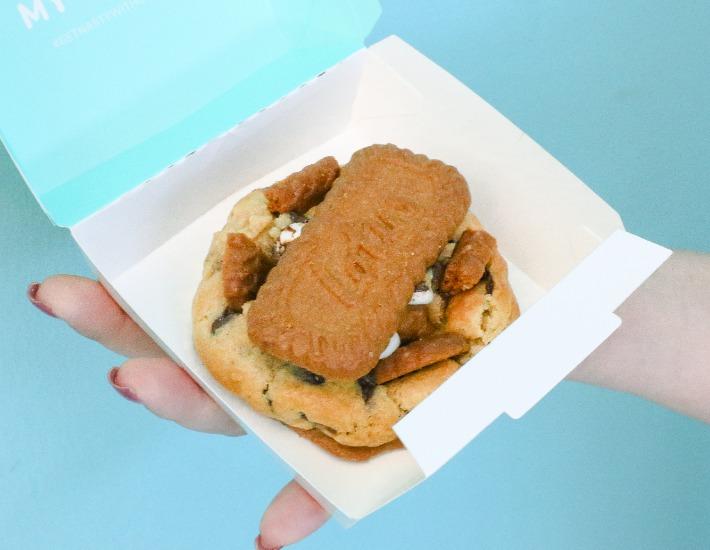 Nasty Cookie Biscoff Marshmallow Cookie