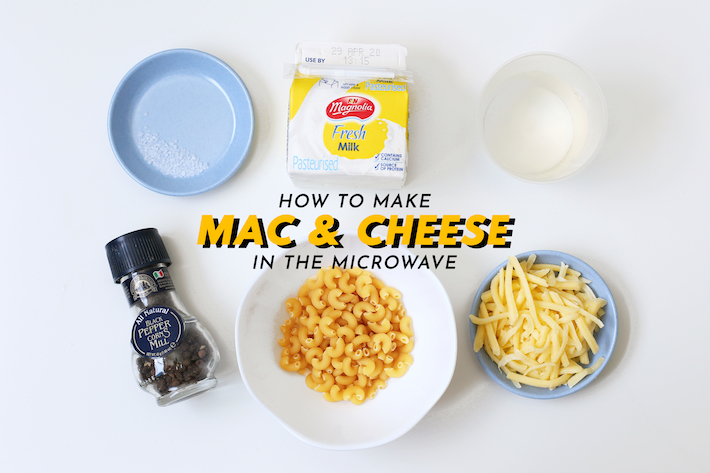 Microwave Mac & Cheese Cover Photo