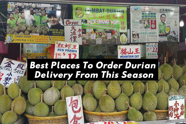 Best Places To Order Durian Delivery From This Season Cover Photo