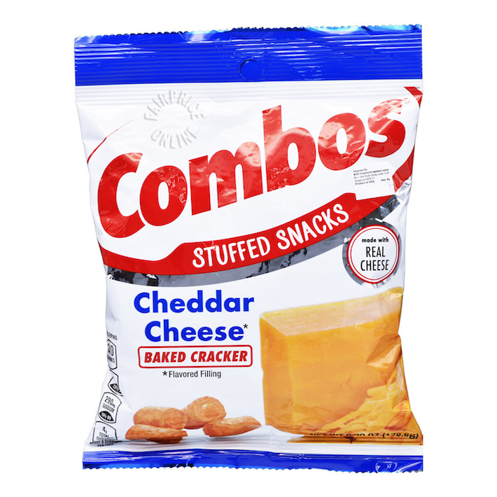 Snack Combos Cheddar Cheese Baked Cracker