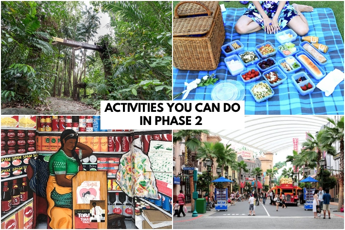 ACTIVITIES YOU CAN DO IN PHASE 2