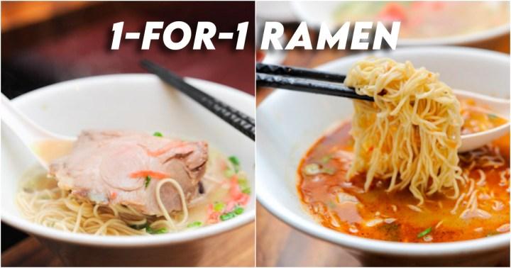 IPPUDO 1 for 1 ramen