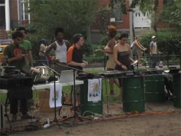 Washington Square Park with JP001 & Sub Swara 9/28/2006