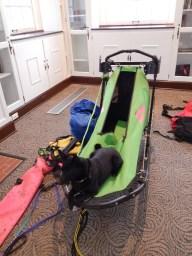 sled dog presentation