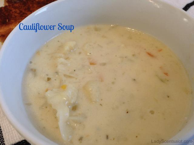 Delicious Cauliflower Soup