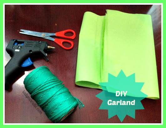 Diy Tissue Garlands