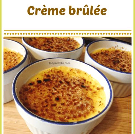 Creme Brulee recipe