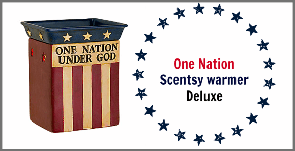 One nation scentsy warmer deluxe