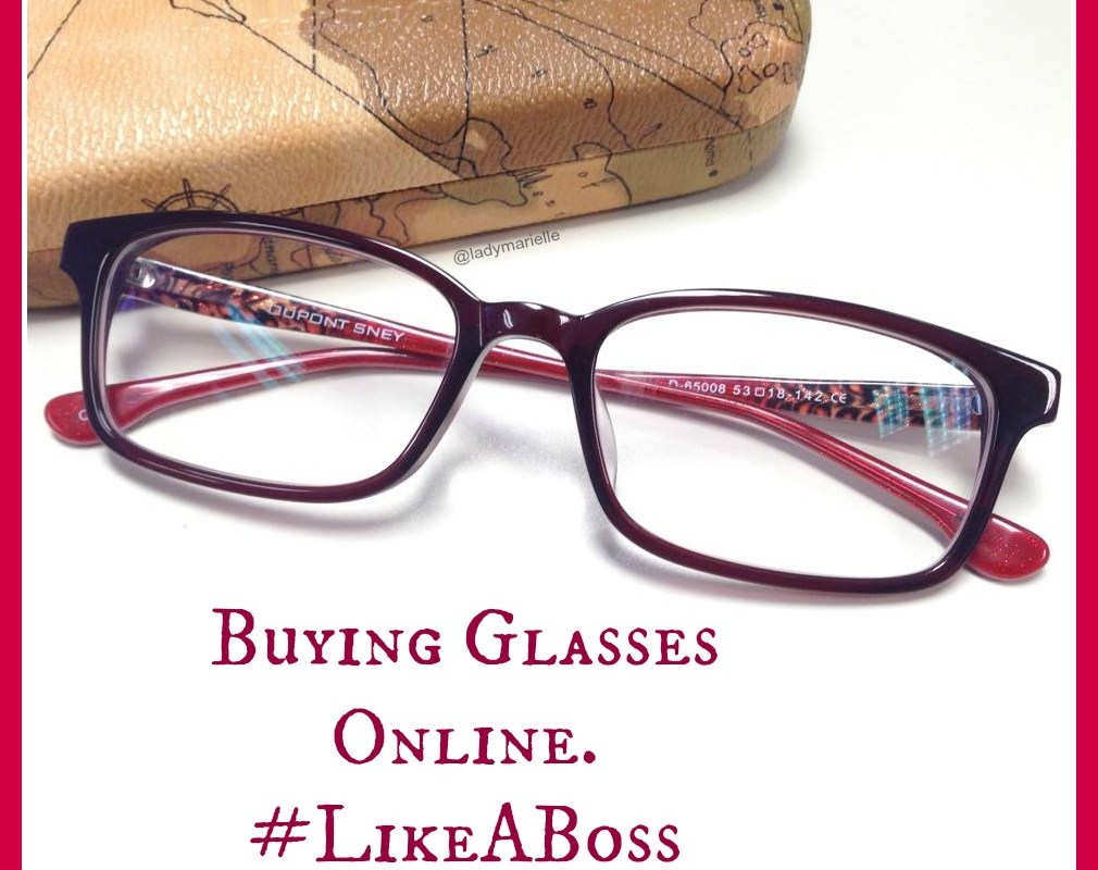 Buying Glasses Online, Like A Boss!