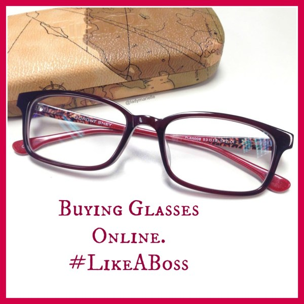 Buying Glasses Online. Like A Boss!