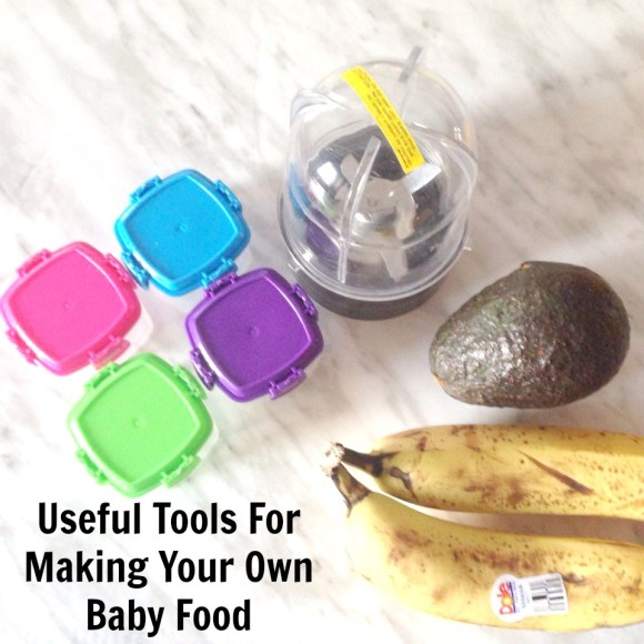 Useful Tools For Making Your Own Baby Food