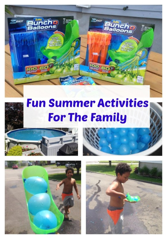 Fun Summer Activities For The Family