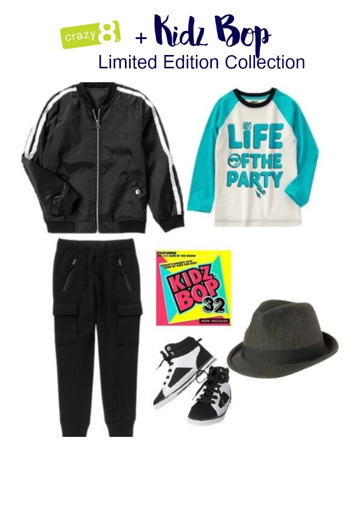 Kids Fashion: Crazy8 + Kidz Bop Limited Edition Collection