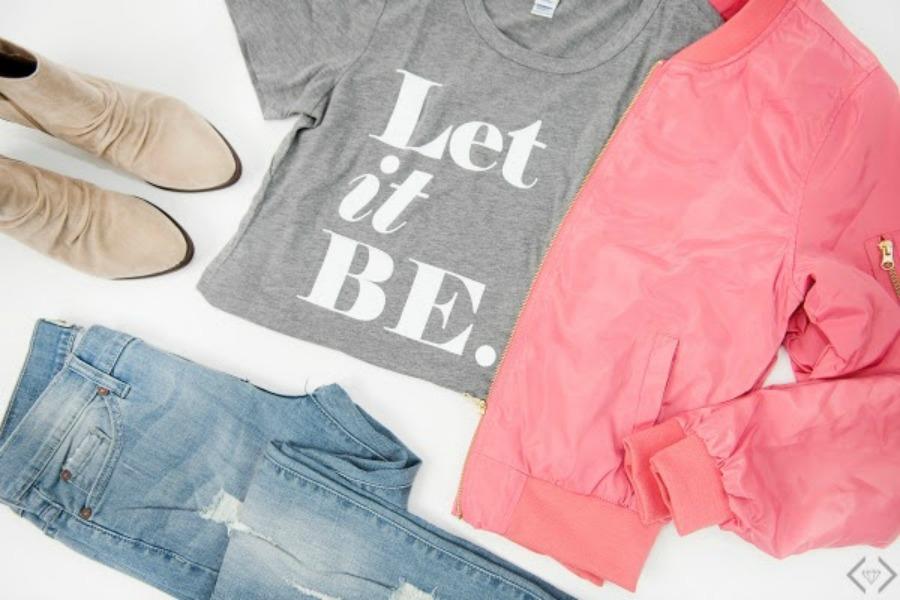 Fashion Friday Story: Inspirational Graphic T-Shirts #Centsofstyle