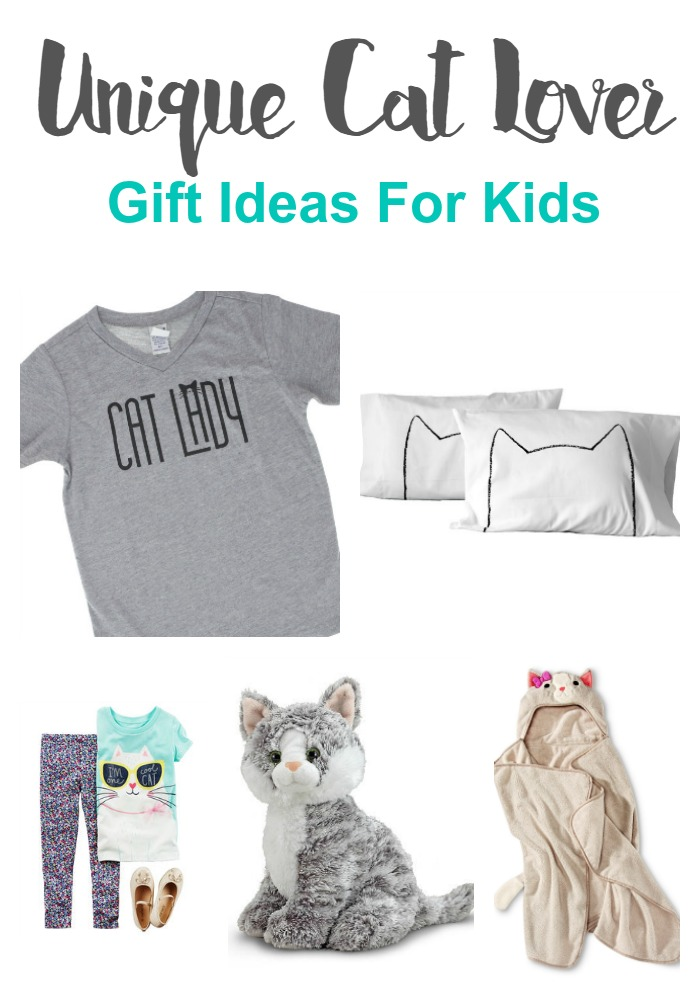 Unique Cat Lover Gift Ideas For Kids