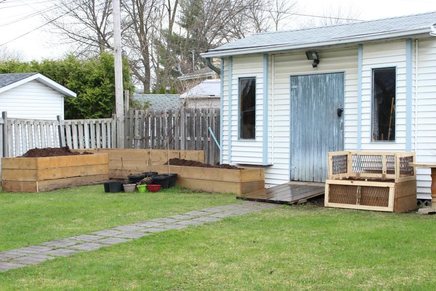 Grateful Sunday: Getting Our Garden Ready + Blog Anniversary