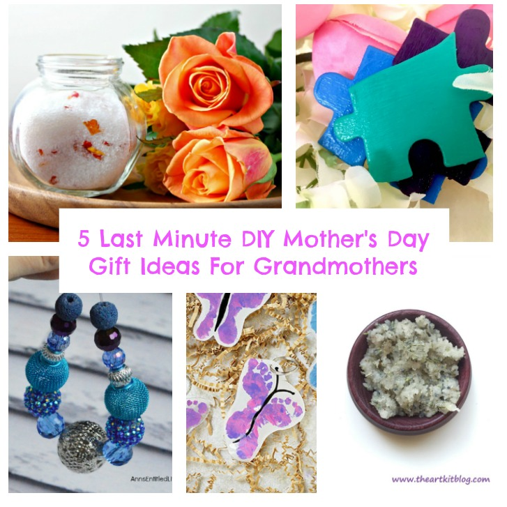 5 Last Minute DIY Mother's Day Gift Ideas For Grandmothers