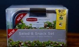Rubbermaid BRILLIANCE Salad & Snack Set Giveaway – #StoredBrilliantly