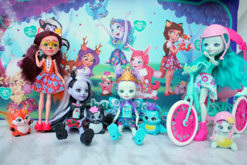 Creative Ways To Teach Caring And Sharing With The Enchantimals Dolls