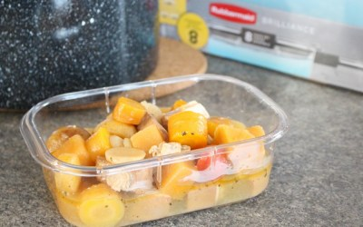 Packing Leftover Soups Made Easy With The Rubbermaid Brilliance