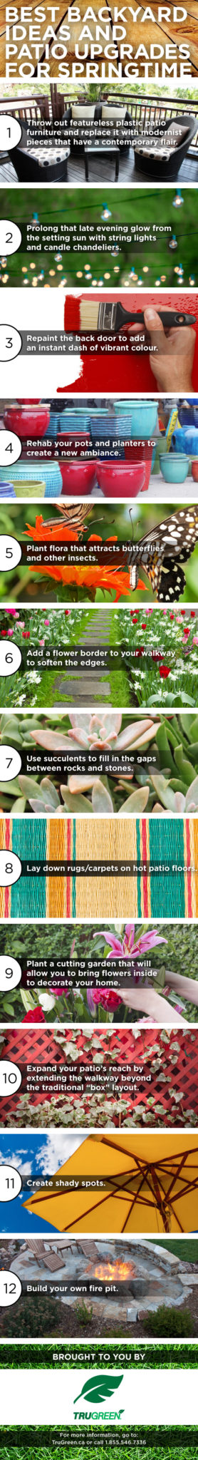Simple Ways To Brighten Up Your Backyard This Spring