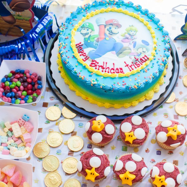 10th Birthday | Epic Super Mario Birthday Party